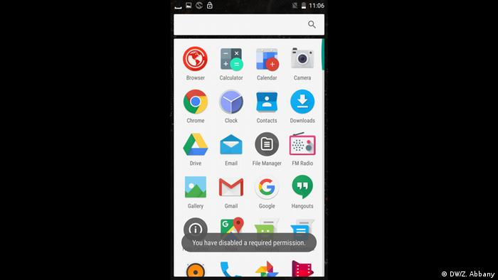 Screenshot Blackphone 2 (DW/Z. Abbany)