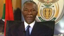 Südafrika Mbeki Rücktritt