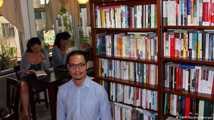 Daniel Lee, independent bookseller in Hong Kong