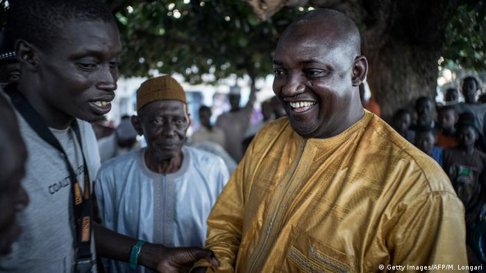 Gambia neuer Präsident Adama Barrow (Getty Images/AFP/M. Longari)