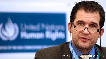 Nils Melzer Türkei UN Pressekonferenz