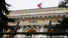 Russland Zentralbank in Moskau