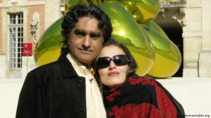Iran Kaveh Vafadari und Afarin Nisari (iranhumanrights.org)