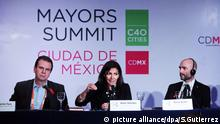 Press conference of the 2016 C40 Mayors Summit