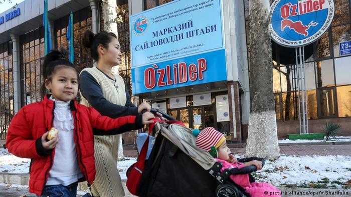Usbekistan Präsidentschaftswahlen (picture alliance/dpa/V.Sharifulin)