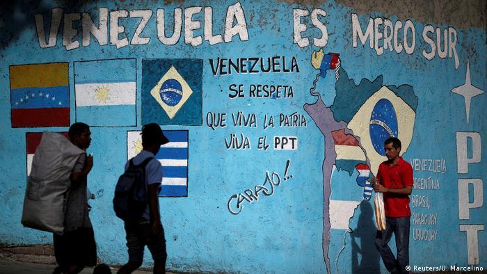 Venezuela Symbolbild Mercosur (Reuters/U. Marcelino)
