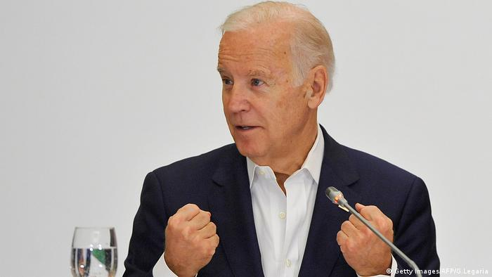 Joe Biden Kolumbien (Getty Images/AFP/G.Legaria)