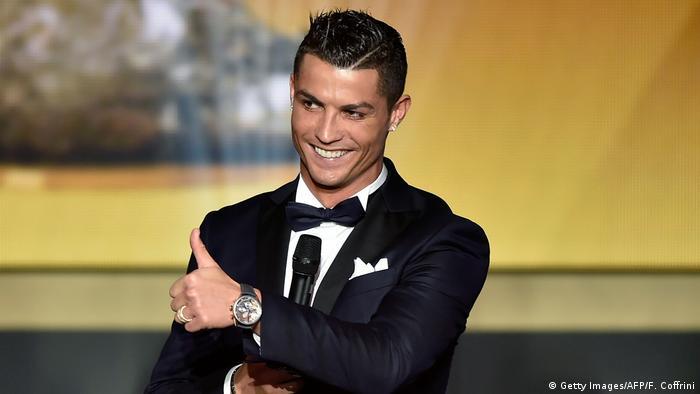 Fußballspieler Cristiano Ronaldo