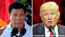 Kombobild Duterte-Trump