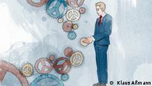 Illustrationen Macht US-Präsident