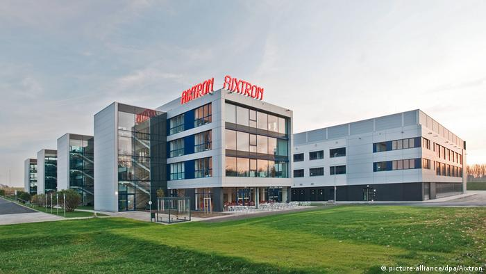 Konzernzentrale Aixtron in Herzogenrath (picture-alliance/dpa/Aixtron)