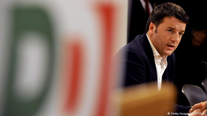 Matteo Renzi Archiv (Getty Images/AFP/T.Fabi)