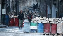Rebelln in Aleppo Syrien