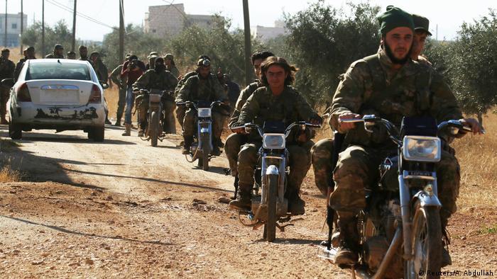 Повстанці в Алеппо