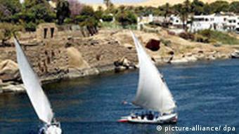 The river Nile at Aswan