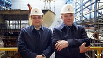 Андрей Бурлаков и Евгений Зарицкий