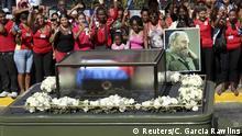 Kuba Beisetzung Fidel Castro