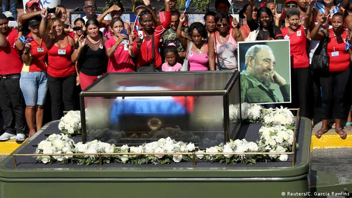 Kuba Beisetzung Fidel Castro (Reuters/C. Garcia Rawlins)