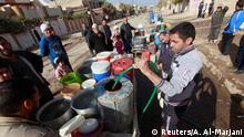 Wassersammelstelle in Mossul