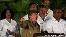 Kubanischer Präsident Raul Castro