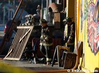 Пожежники на місці трагедії