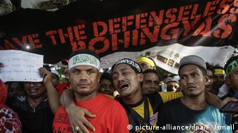 Malaysia Protest Myanmar Gewalt gegen Rohingya (picture-alliance/dpa/F. Ismail)
