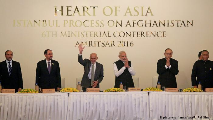 Indien Amritsar Heart of Asia Konferenz (picture-alliance/dpa/R. Pal Singh)