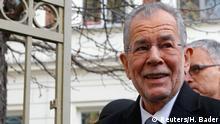 Österreich Präsidentschaftswahlen Stimmabgabe Van der Bellen