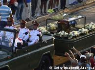 Урну з прахом Фіделя Кастро перевозять на кладовище Санта-Іфігенія