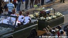 Fidel Castro Beisetzung Kuba Santiago