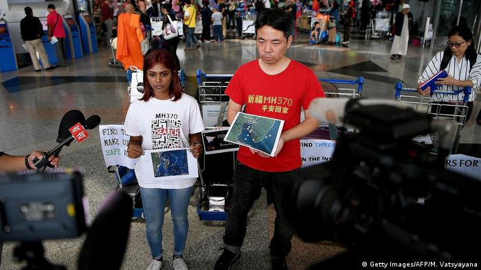The search for the wreckage mustn't be called off, said Grace Nathan (left) shortly before she flew to Madagascar. Her mother was on board flight MH370. The official search is due to be abandoned in February 2017 if nothing is found before then. Relatives of those on board are protesting. We'll pay for it ourselves, Nathan said. The search must go on.