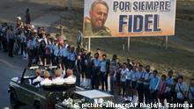 Kuba Trauerfeier Fidel Castro