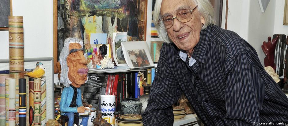 Ferreira Gullar em foto de 2010