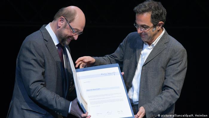 Verleihung des Marion Dönhoff Preises an Navid Kermani (picture-alliance/dpa/A. Heimken)