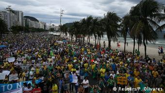 Organizadores estimaram em 600 mil o número de manifestantes no Rio