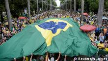 Brasilien Proteste gegen die Korruption