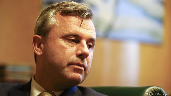Österreich Präsidentschaftswahlen Norbert Hofer (Reuters/L. Foeger)