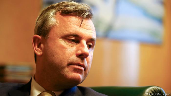 Österreich Präsidentschaftswahlen Norbert Hofer