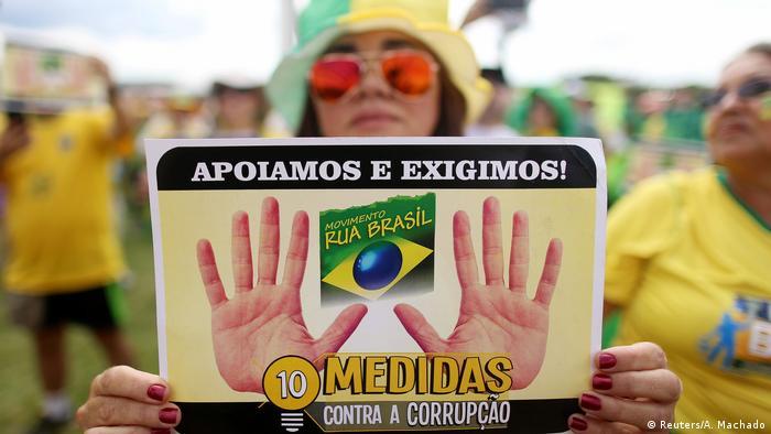 Brasilien Proteste gegen Korruption