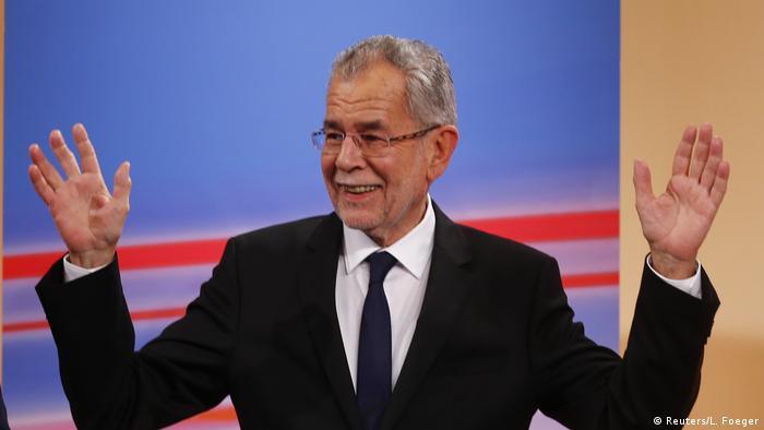 Александр Ван дер Беллен - будущий президент Австрии