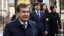 Usbekistan Wahlen Premierminister Schawkat Mirsijajew