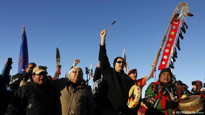 Protest against Dakota Access Pipeline (REUTERS/L. Jackson)