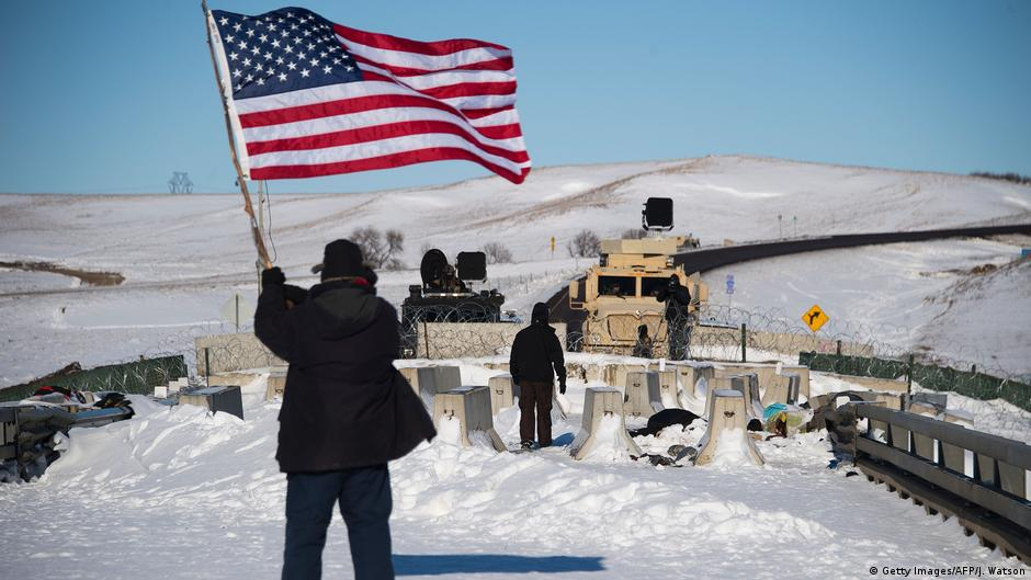 US authorities deny permit for Dakota Access pipeline, in victory for Native tribes