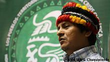 Peru | AIDESEP-Präsident Henderson Rengifo