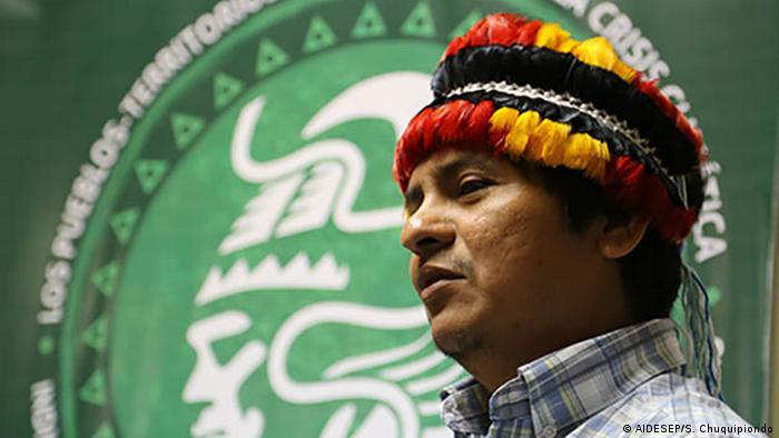Peru | AIDESEP-Präsident Henderson Rengifo (AIDESEP/S. Chuquipiondo)