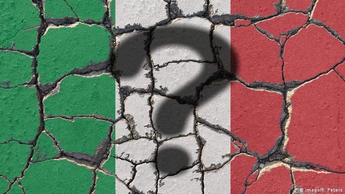 Symbolbild | Italien nach Referendum (imago/R. Peters)