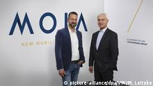 VW presents its Moia segment (picture-alliance/dpa/VW/M. Leitzke)