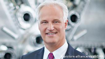 Deutschland Präsident des Maschinenbauverbandes VDMA Carl Martin Welcker