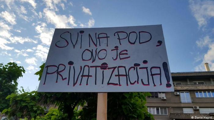 Symbolbild Linke in Serbien
