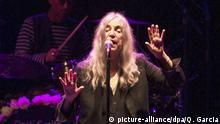 Patti Smith US Sängerin